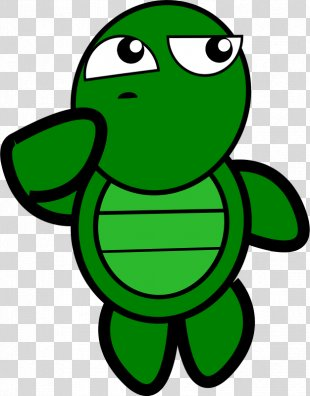 Turtle Free Content Clip Art - Cartoon Person Thinking PNG