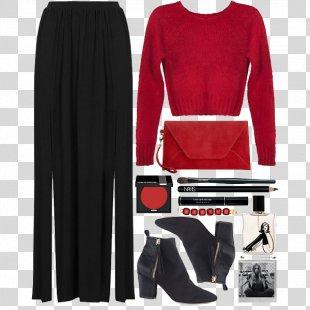Dress Winter Euclidean Vector - Women With A Simple Creative Winter PNG
