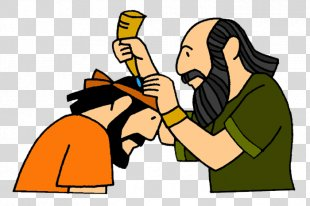 Books Of Samuel Bible Story Christian Mission Anointing - Pouring Anointing Oil PNG
