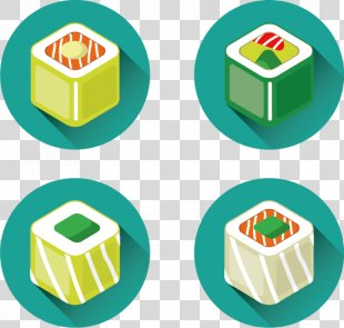 Sushi Japanese Cuisine Euclidean Vector Icon - Vector Sushi PNG