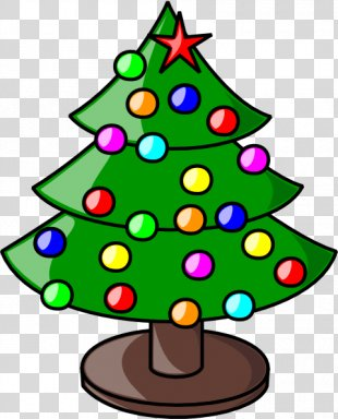 Christmas Tree Free Content Clip Art - Merry Christmas Banner Clipart PNG