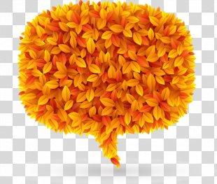 Autumn Leaves Leaf - Autumn Leaves Speech Bubble Tag PNG