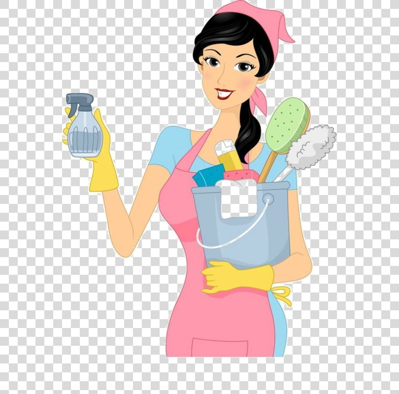 Green Cleaning Cleaner Housekeeping Maid Service, House PNG