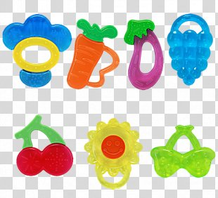 Tooth Whitening Teether Mouth Deciduous Teeth - Silicone Baby Teeth Stick PNG