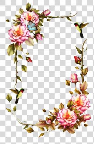 Picture Frames Flower Frame Clip Art Rose PNG