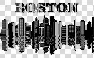 Boston Skyline Clip Art - Skyline PNG