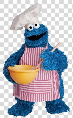 Cookie Monster Mr. Snuffleupagus Ernie Chocolate Chip Cookie Sesame Street Characters - Cookie Monster PNG