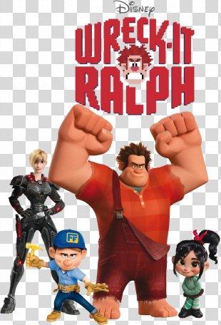 Disney Infinity Wreck-It Ralph Perry The Platypus Fix-It Felix Sergeant Calhoun - Wreck It Ralph Transparent PNG