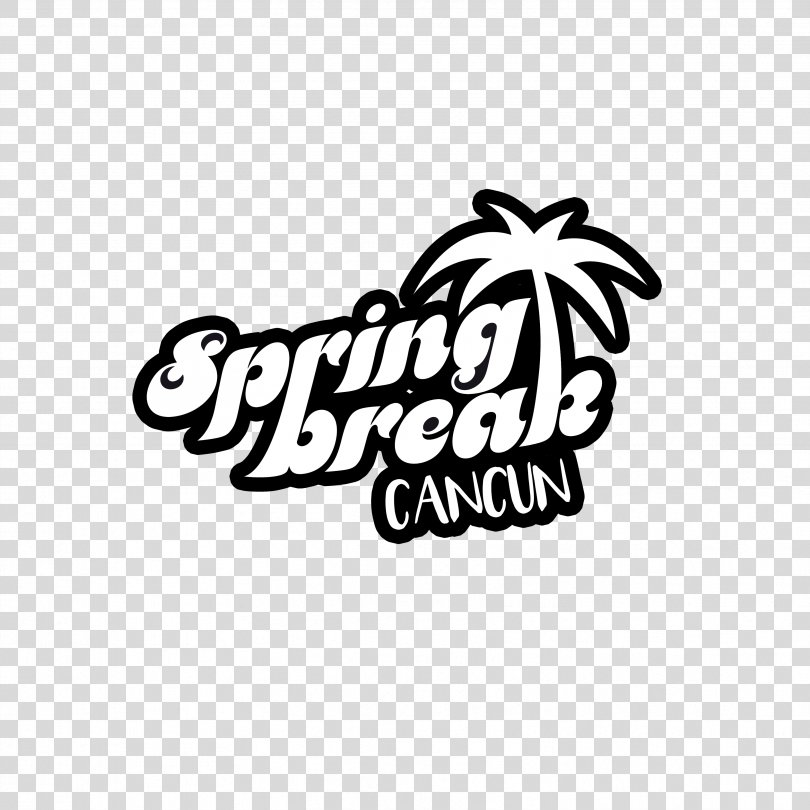 Spring Break Logo, Spring Break Cancun PNG, Free Download