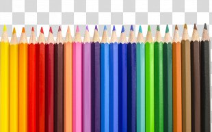 Colored Pencil Drawing - Color Pencil Transparent PNG