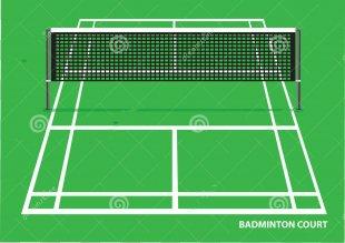Badminton Court Shuttlecock Royalty-free - Badminton PNG