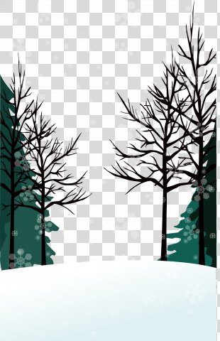 Winter Vector Wallpaper - Winter Background PNG