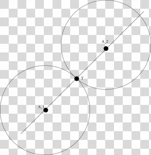 Circle Point Line Angle Trisection - Circle PNG