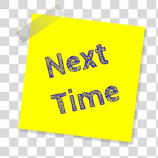 Future Tense Future Continuous Grammatical Tense Post-it Note - Post It Note Sticker PNG