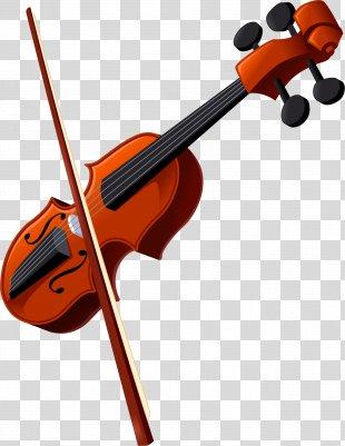 Violin Family Musical Instruments Viola Clip Art - Violin PNG
