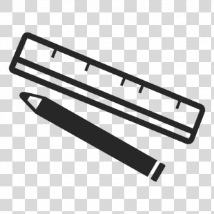 Ruler Pencil - Ruler PNG