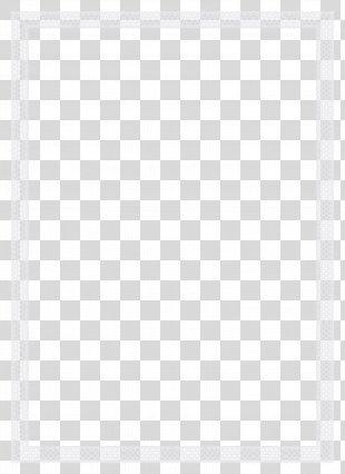 Checkered Giant Rabbit White Line Angle Point - White Frame PNG