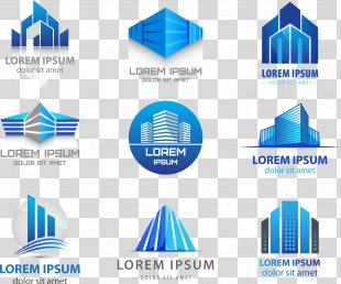 Logo Building Real Estate - Vector LOGO PNG