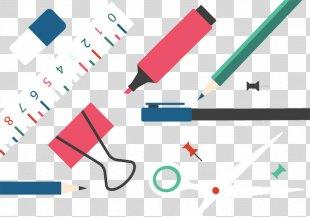 Paper Pencil Eraser - Clip Pen Pencil Eraser PNG