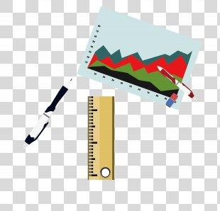 Shenzhen Yefa Network Technology Co., Ltd. Angle Ruler Pattern - Hand-drawn Map Ruler Eraser PNG