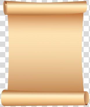 Scroll Clip Art - Scrolled Paper Clip Art PNG