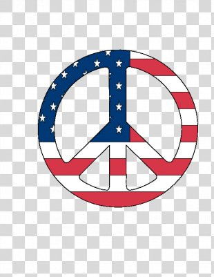 Flag Of The United States T-shirt Peace Symbols - Us Flag Graphics PNG