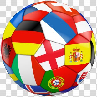 Football Flag Stock Photography Clip Art - Football With Flags Transparent Clip Art Image PNG
