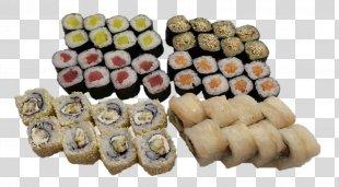 Japanese Cuisine Makizushi Sushi Tempura California Roll - Sushi PNG