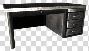 Desk Furniture Metal Office File Cabinets - Desk PNG