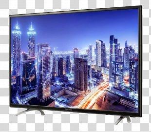 LED-backlit LCD Smart TV Television Set Ultra-high-definition Television 4K Resolution - Tv PNG