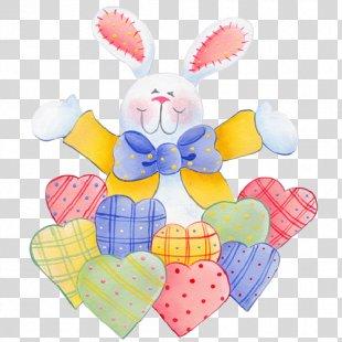 Easter Bunny Christmas Holiday Clip Art - Bunny Ears PNG