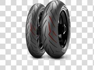 Motorcycle Tires Pirelli Sport Bike - Motorcycle PNG