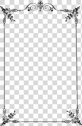 Borders And Frames Classic Clip Art Clip Art - Elegant Frame PNG