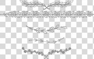 Europe Adobe Illustrator - European-style Lace Separator Bar PNG