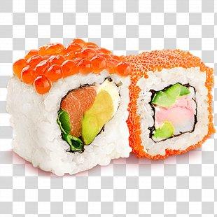 Sushi Pizza Japanese Cuisine Makizushi Sushi Pizza - Sushi PNG