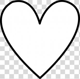 Heart Drawing Clip Art - White Heart PNG