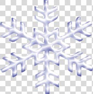 Snowflake Winter Euclidean Vector - Winter Snow PNG