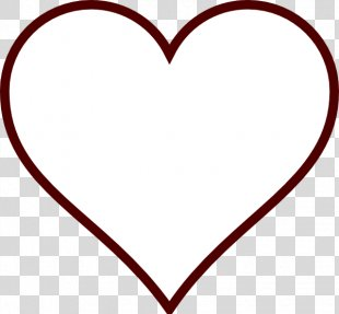 Heart Clip Art - White Heart Cliparts PNG
