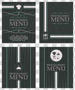 Cafe Menu Restaurant Chef - Simple Menu Vector PNG