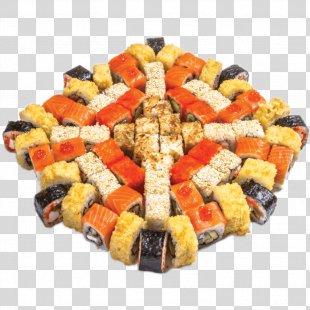Makizushi Sushi Tempura California Roll Cuisine - Sushi PNG