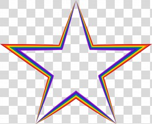 Hollywood Stars Clip Art - Colorful Stars PNG