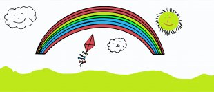 Rainbow Dash Cartoon Clip Art - Rainbow PNG