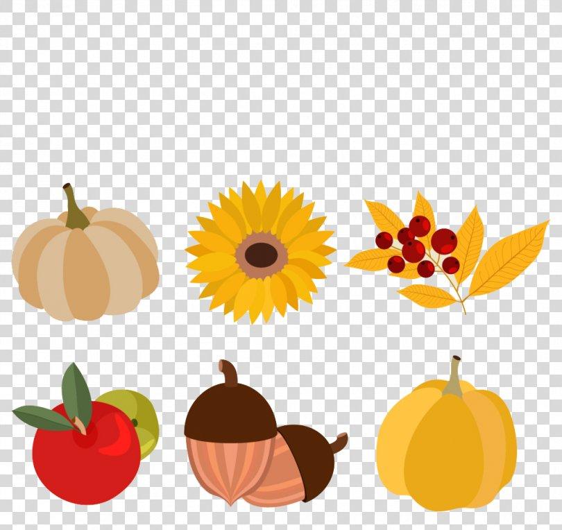 Autumn Euclidean Vector, Autumn Painted Element PNG