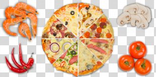 Pizza Vegetarian Cuisine Sushi Dish Restaurant - Pizza PNG