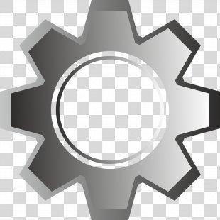 Gear Clip Art Mechanism Image Vector Graphics - Gear PNG