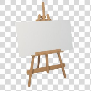 Easel Painting Canvas Drawing Art - Painting PNG
