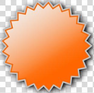 Starburst Clip Art - Gold Starburst File PNG