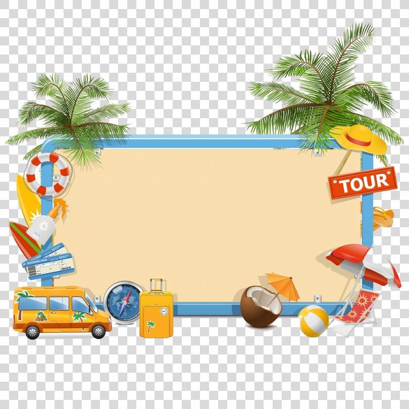 Summer Vacation Clip Art, Holiday Tools PNG