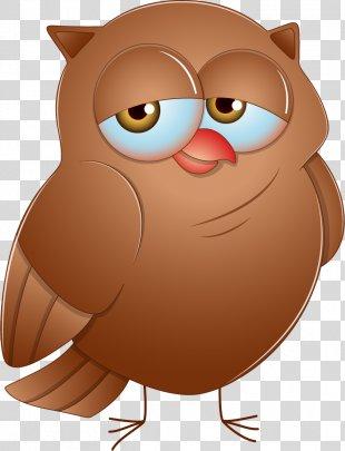 Eurasian Eagle-owl Drawing Clip Art - Cartoon Owl PNG