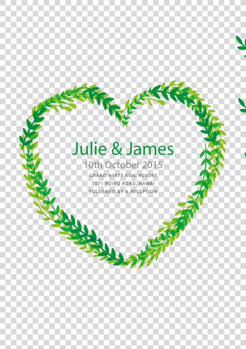 Wedding Invitation Marriage Euclidean Vector Digital Art, Wedding Invitation In The Form Of Heart PNG, Free Download